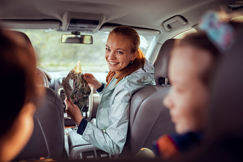 entertaining kids on road trips and long haul flights
