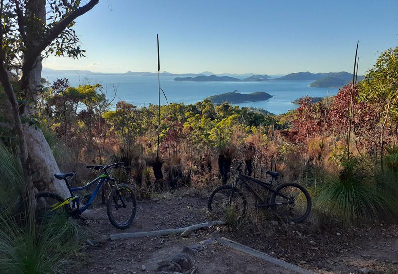 Mount Rooper mountain biking Airlie beach