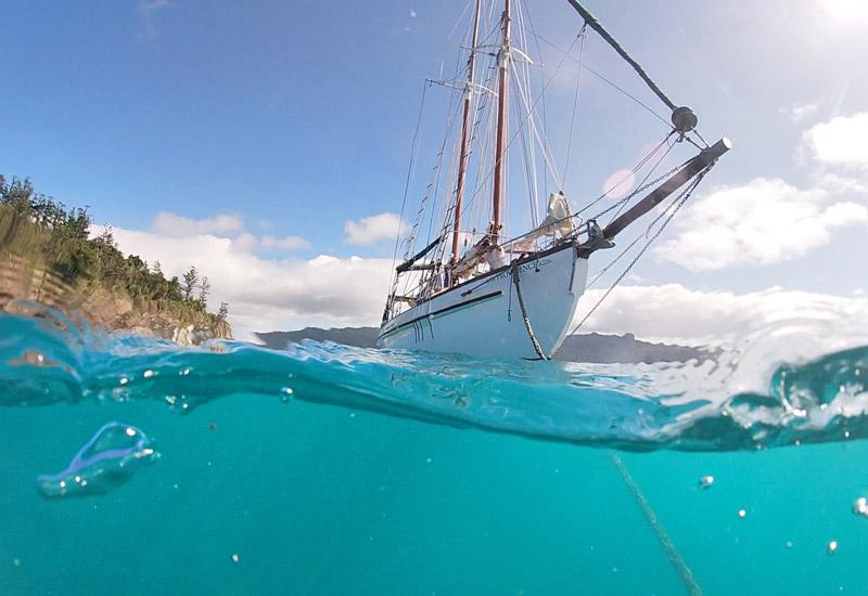 sailing the whitsundays