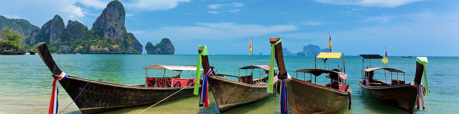 long boats in thailand