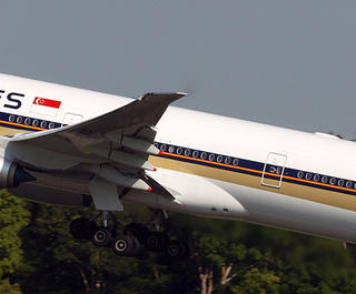 Flight review - Singapore Airlines Business Class - plane