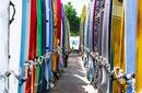 Surfboards Chained Together | by Flight Centre's Talia Schutte